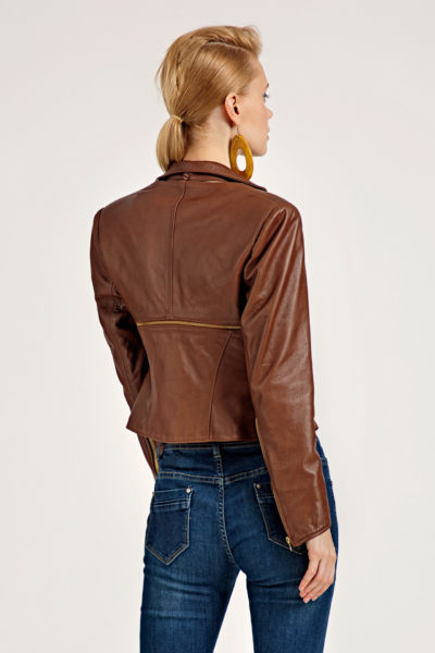 2 Leather Polymorphic 3-Piece Jacket J0002