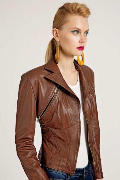 3 Leather Polymorphic 3-Piece Jacket J0002