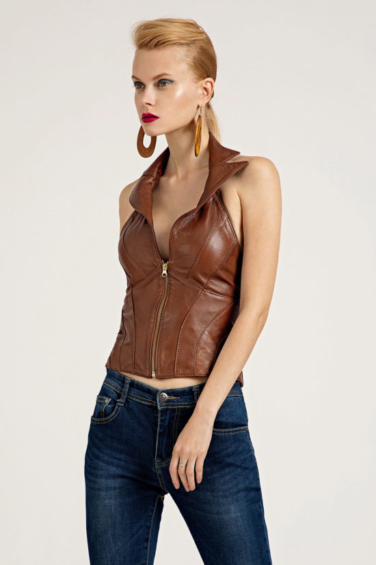 6 Leather Polymorphic 3-Piece Jacket J0002